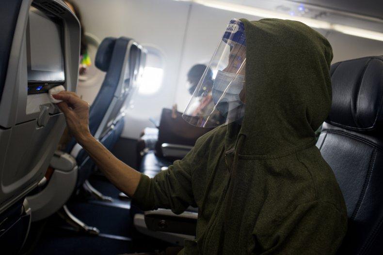 air travel flight mask gloves