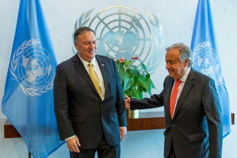 Pompeo at UN