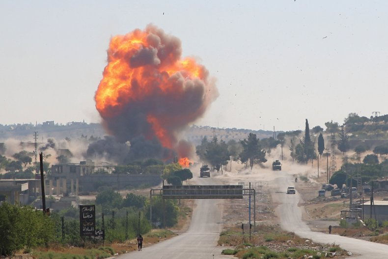 turkey, russia, patrol, attack, idlib, syria
