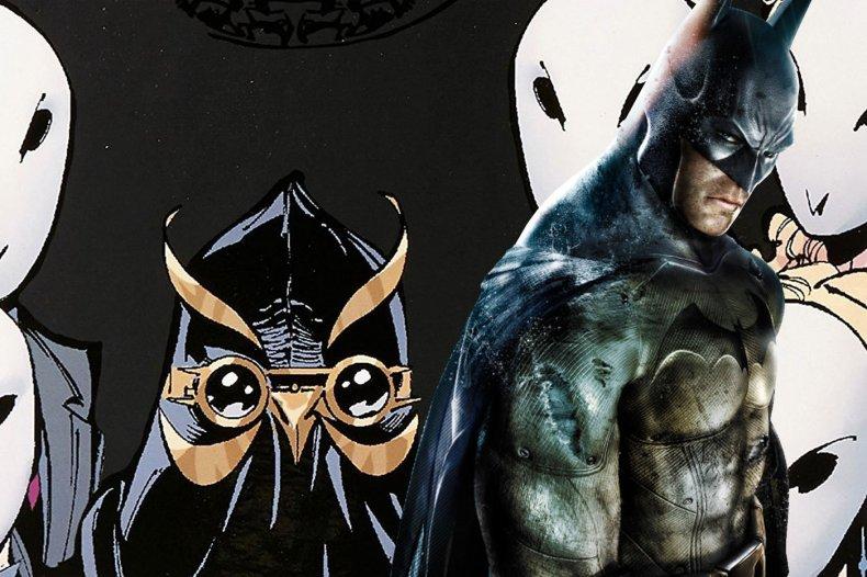 batman arkham court of owls game