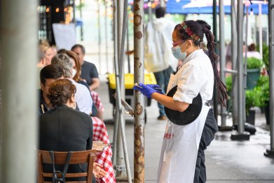 Restaurant Server in New York City