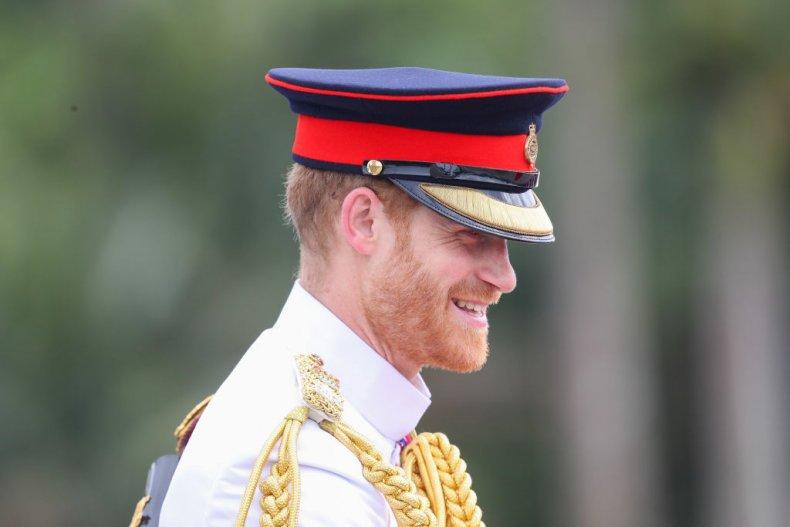Prince Harry at Fiji War Memorial
