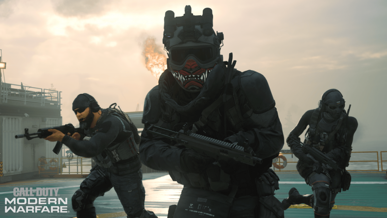 modern warfare shadow company broken famas