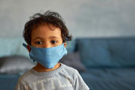 covid-19, coronavirus, child, mask, stock, getty