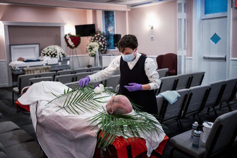 Coronavirus funeral home New York City May2020