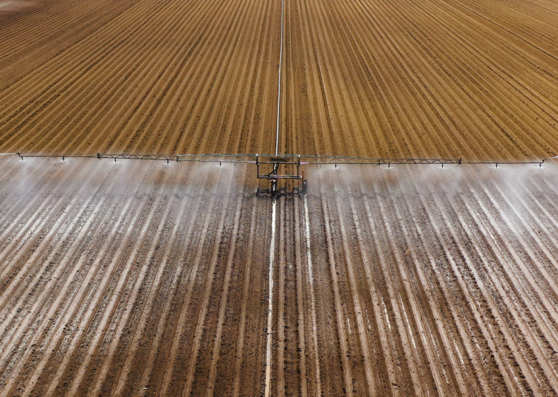 Irrigation is putting stress on water supplies