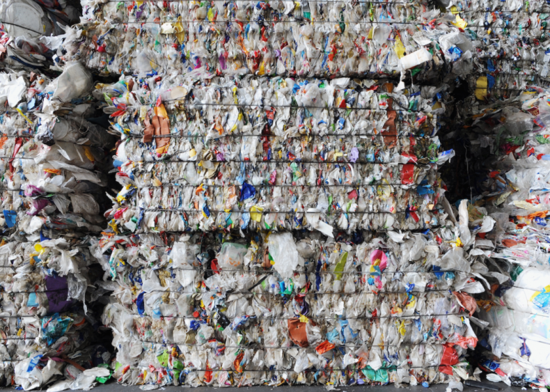 Most plastic waste is not recycled