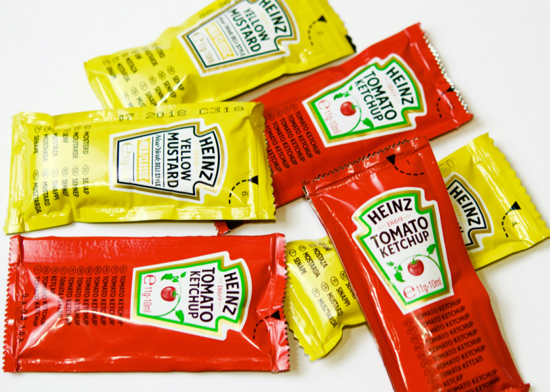 Single-serve condiment packets are having a moment