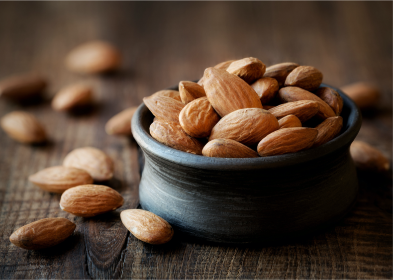 Almonds are thirsty but don't have high emissions