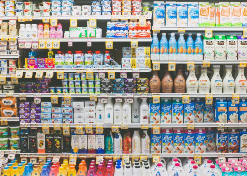 Dairy alternatives have fewer emissions than dairy milk