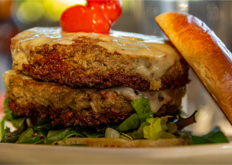 Plant-based burgers still have a negative impact