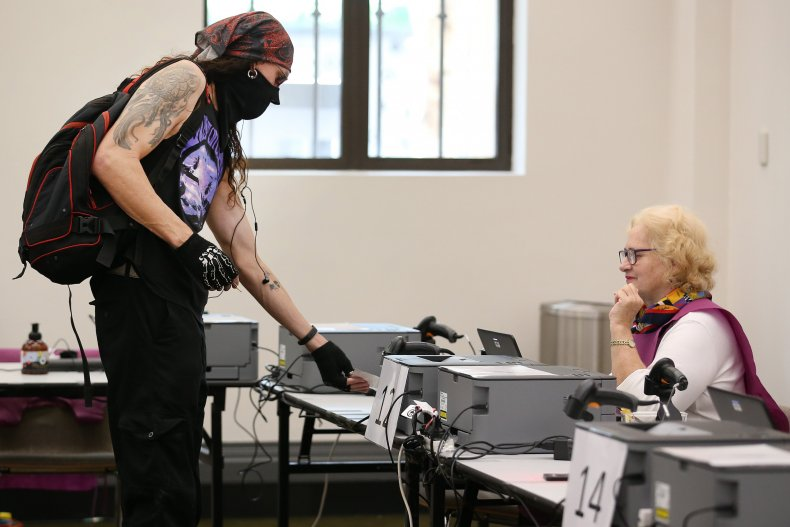 poll workers wanted health concerns