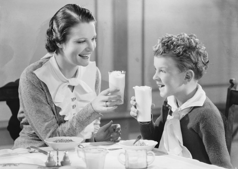 1933: Milk is enriched with vitamin D