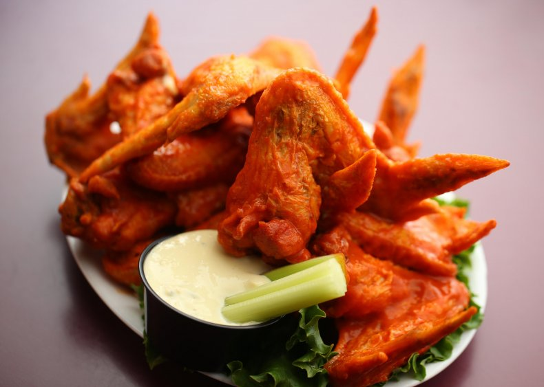 1964: Buffalo wings debut at Western New York bar