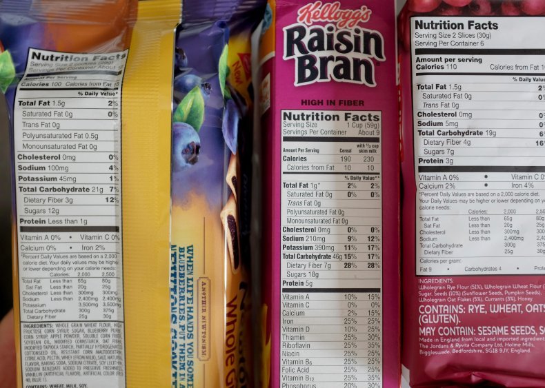 1990: Government sets standards for nutrition labels