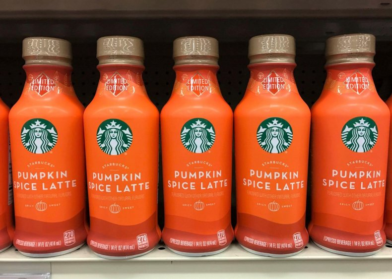 2003: Starbucks launches the pumpkin spice latte