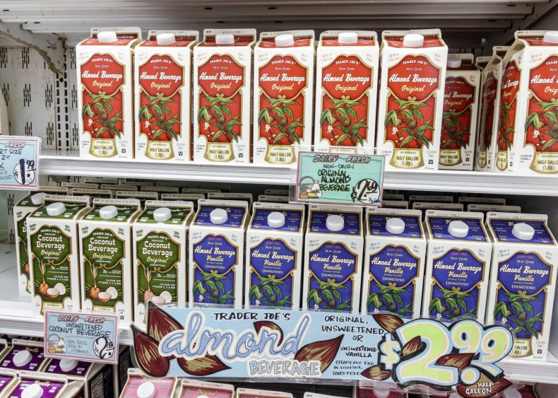 2018: People ditch dairy in favor of plant-based milks