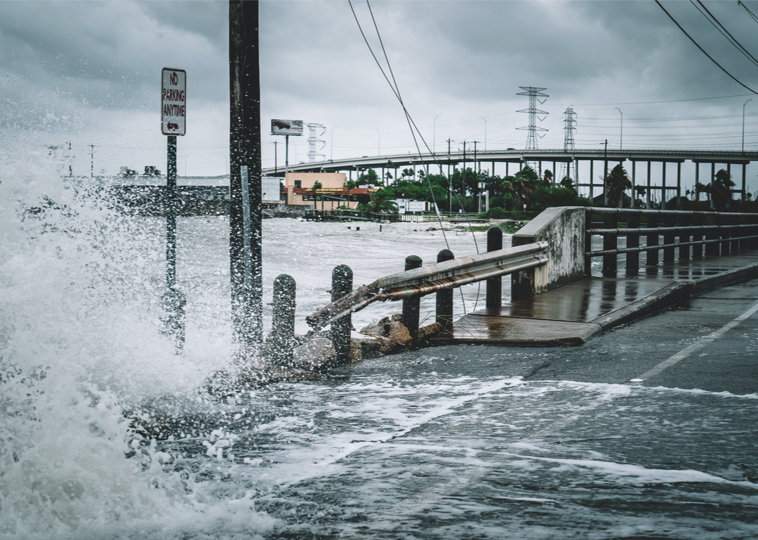 Cities with the highest flood risk in every state