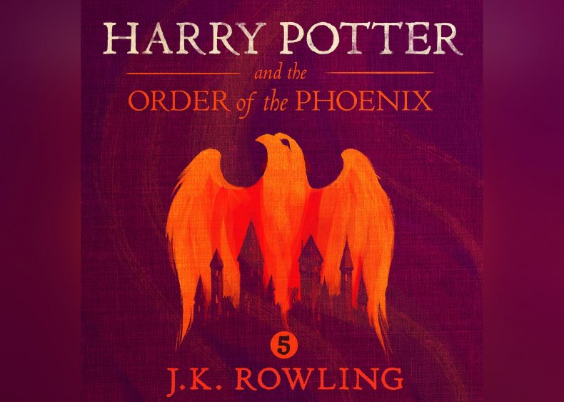 #38. Harry Potter and the Order of the Phoenix, Book 5