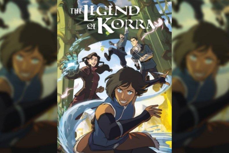 legend of korra dark horse comics cover