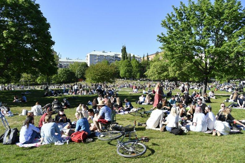 park, Stockholm, Sweden, May 2020