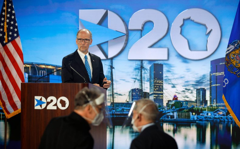 DNC, 2020, Joe Biden, foreign policy, China