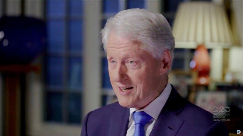 Bill Clinton at DNC 2020