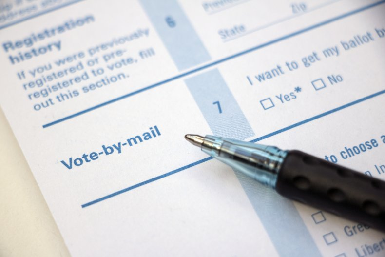 iStock Vote Mail-In