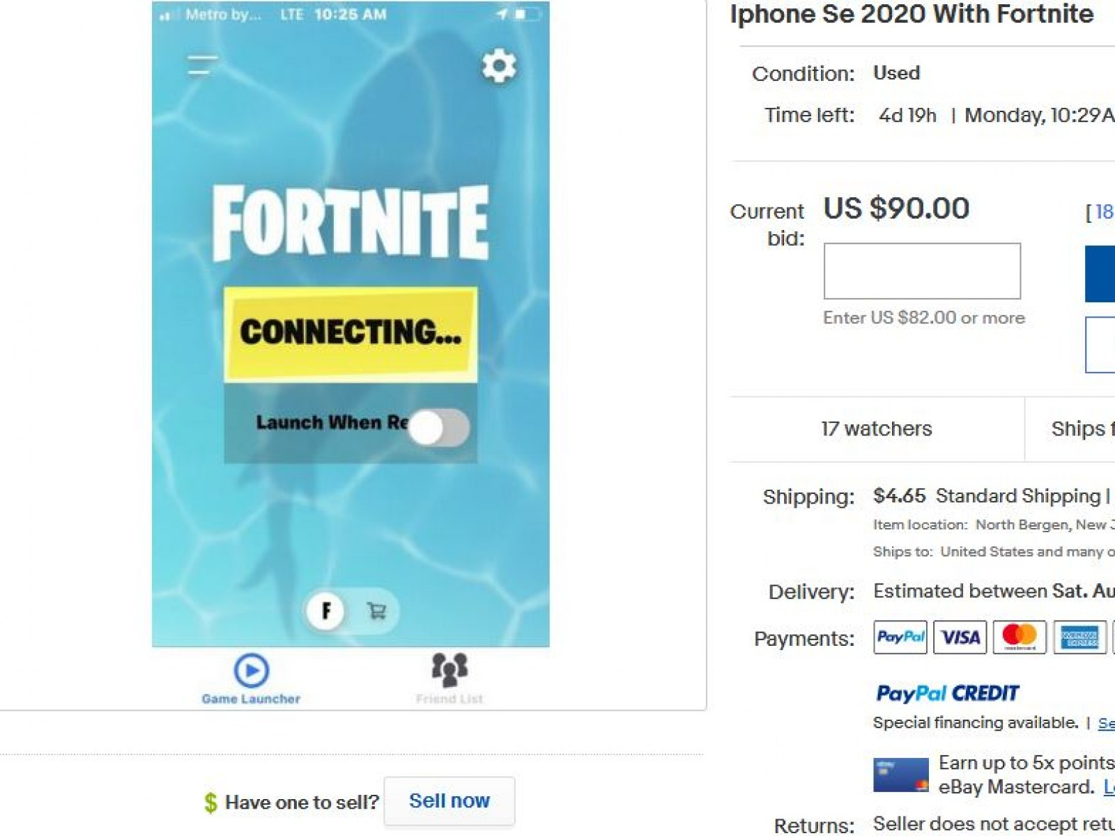 Iphones With Fortnite Installed List On Ebay For Big Money After Apple Feud