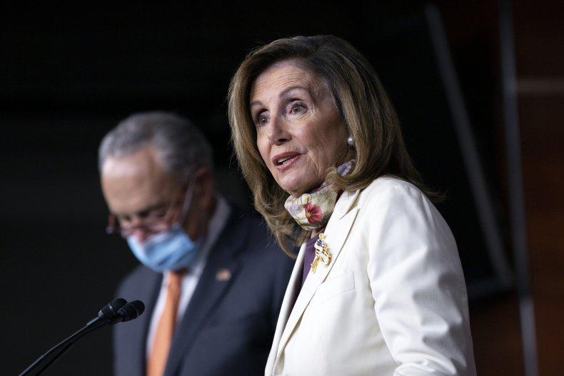 nancy pelosi stimulus package upper hand democrats