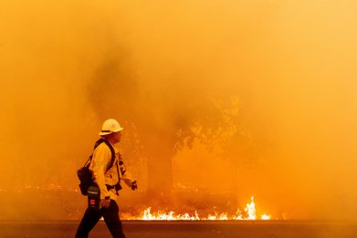 California Wildfires Napa Valley August 2020