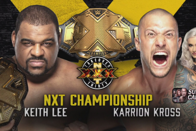 wwe nxt takeover 30 keith lee kross
