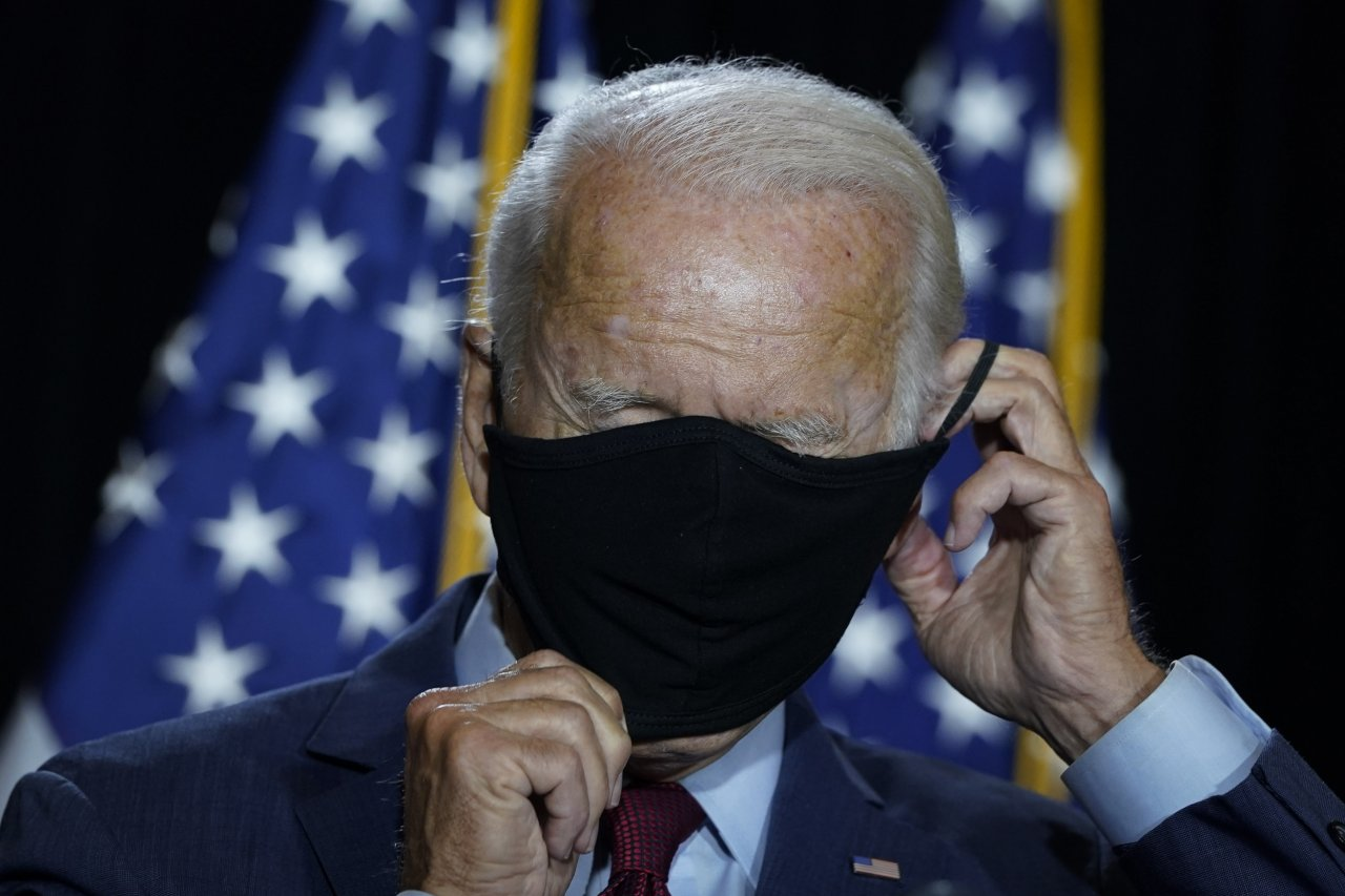 Joe Biden DNC Mask 2020 Democratic nominee