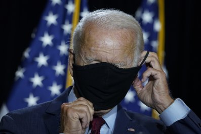 Joe Biden DNC Mask 2020 Democratic nominee
