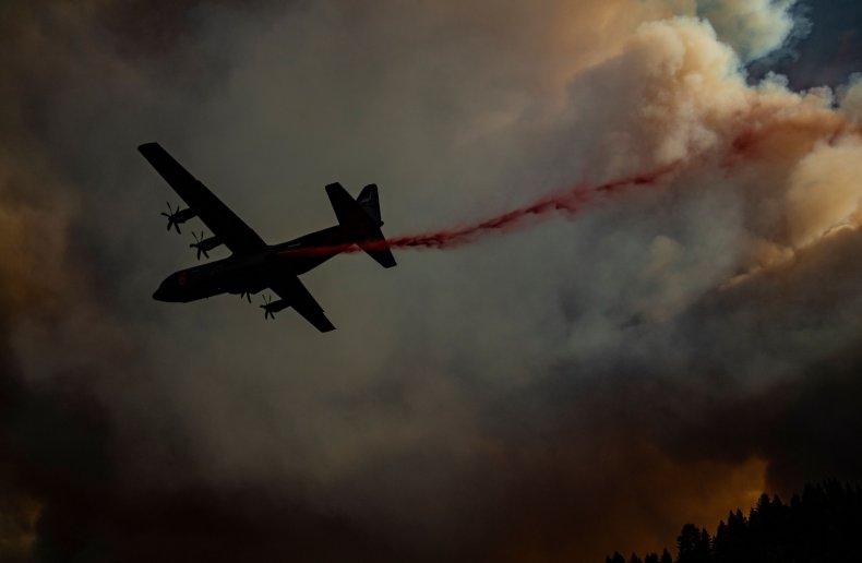 LNU Lightning Complex fire California