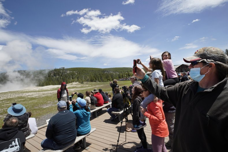 Yellowstone National Park, Wyoming, June 2020