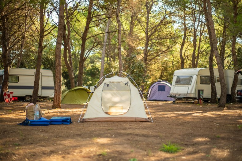 Camping cities