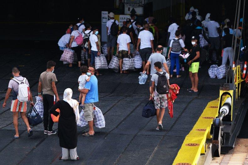 Italy Migrants Quarantine Ship