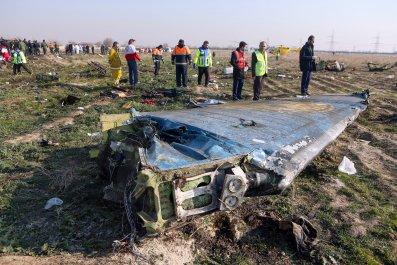 Ukrainian Airlines plane crash, Tehran, Iran 2020