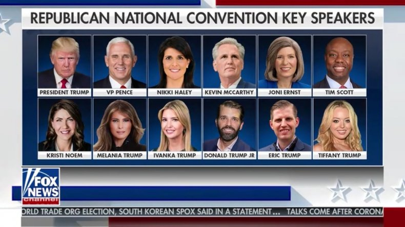 Republican National Convention Key Speakers