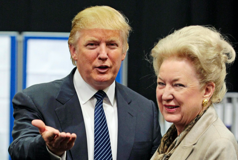 Donald Trump and Maryanne Trump