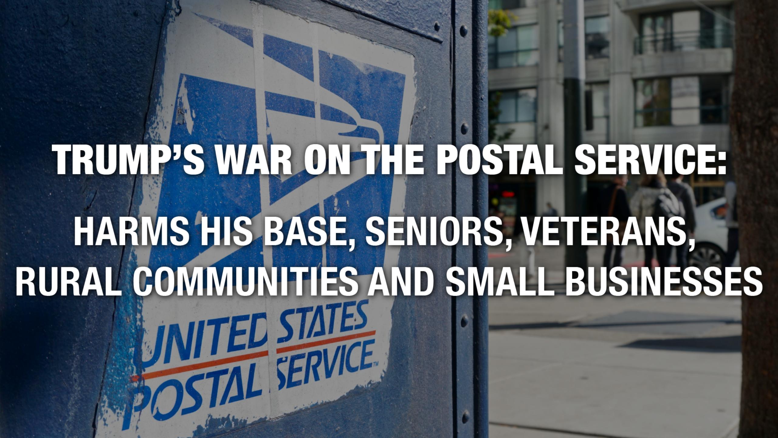 Newsweek AMPLIFY - Trump's War on Postal