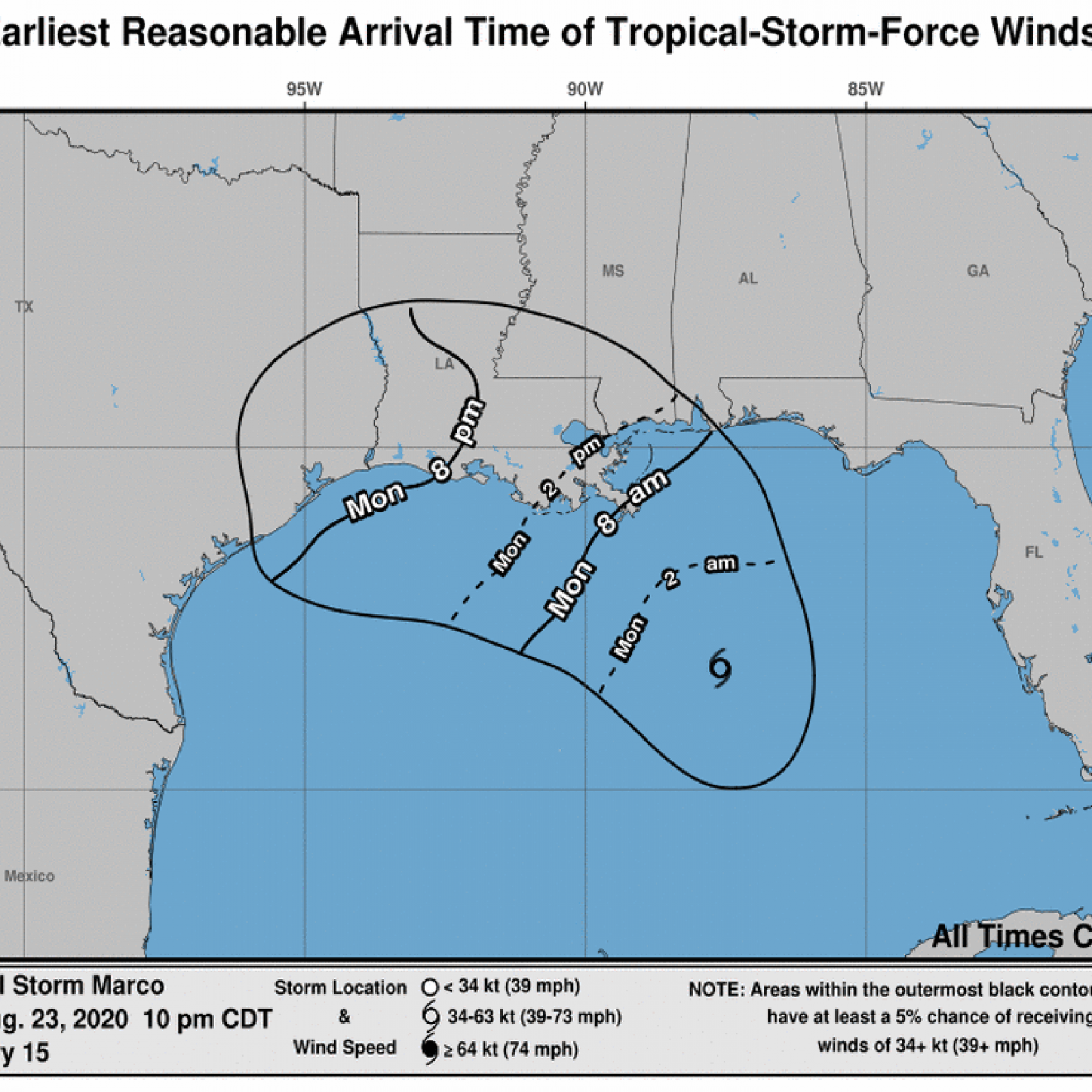 Tropical Storms Marco And Laura Path Tracker As Hurricane Likely To Hit Louisiana