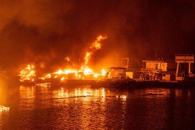 LNU Lightning Complex Fire, California, August 2020