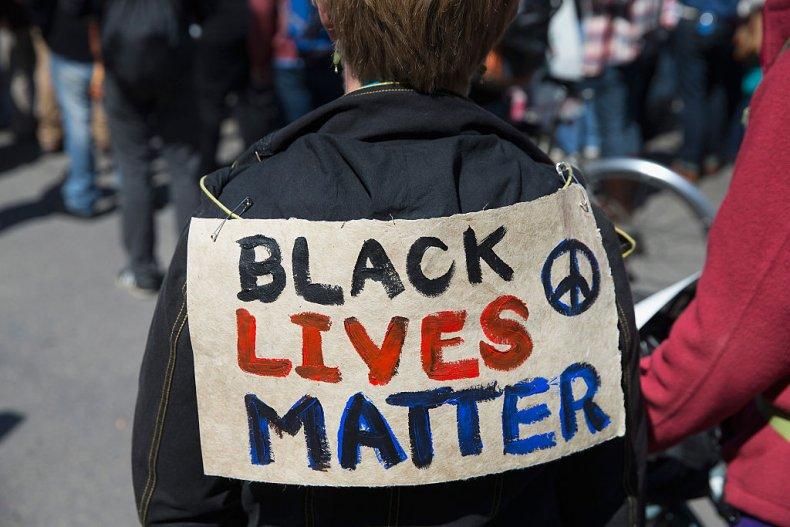 Wisconsin Black Lives Matter Demonstrator