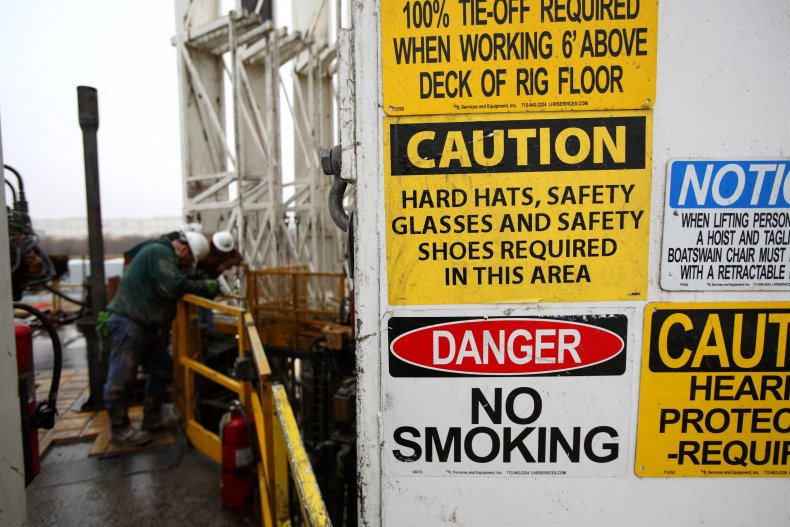 oil gas pollution industry environmental