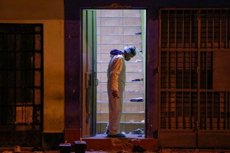Peru Nightclub Raid