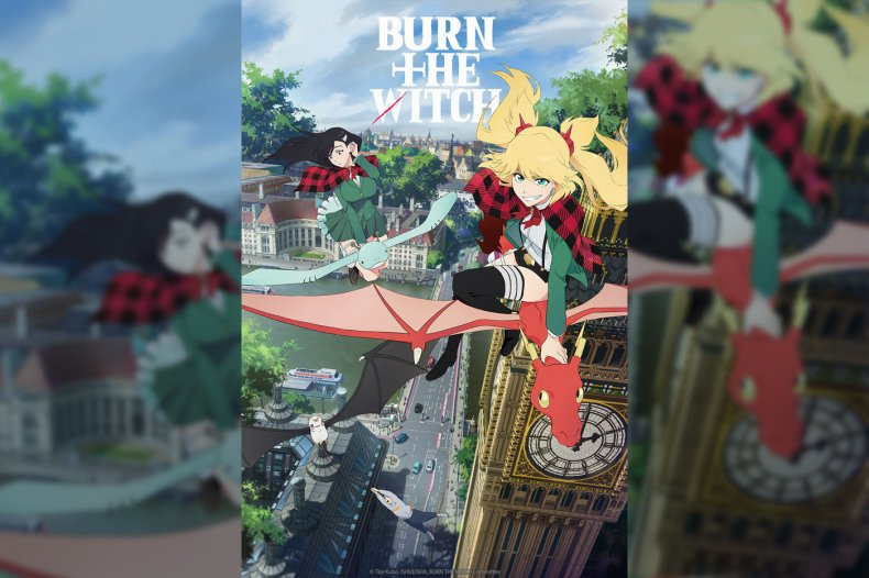 burn the witch anime poster crunchyroll