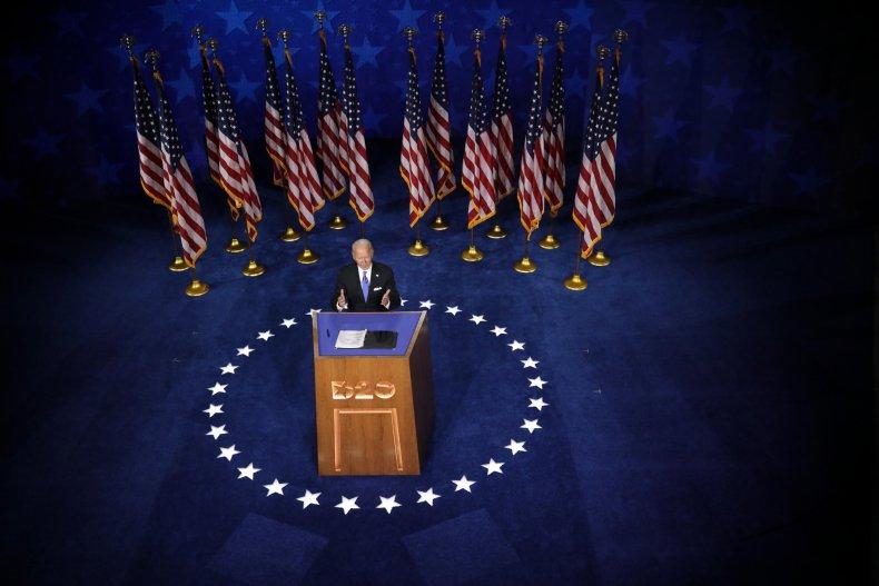Joe Biden accepts nomination at 2020 DNC