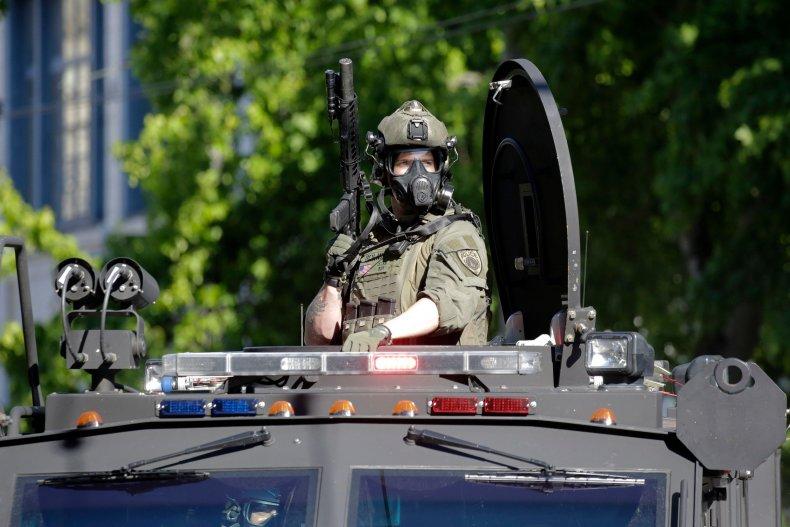 Seattle SWAT Officer